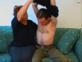 BBW Granny Home Sex Video