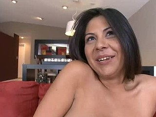 Luxurious beauty is getting her luscious twat banged so well