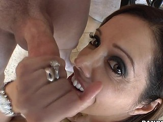 The always amazing Francesca Le comes by to aid us out with a film project that needs her assistance. Little does this chick know, we indeed need her for Blow Job Fridays. This Babe strips down into a strap and shows of that tasty body of hers and gets ready for what's to come. One Time we tell her what its for and that babe'll be getting paid. Francesca was down on her knees engulfing dick even in advance of I told, ' action '. Francesca impressed us! This honey knows how to engulf a ramrod. This hottie is no joke. Unfathomable face hole and all. Take notes ladies! This is how to engulf a schlong. Have A Fun!